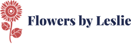 Logo for Flowers by Leslie Portsmouth